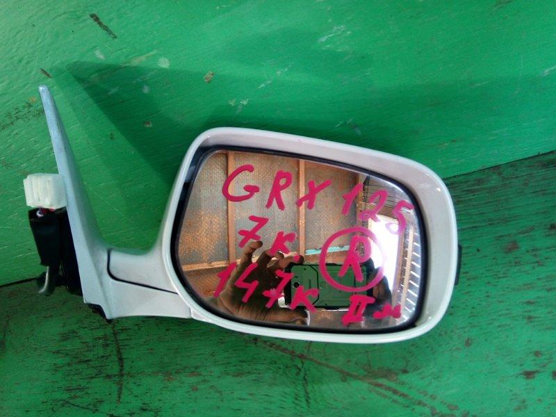 Зеркало Toyota Mark X GRX125 правое (б/у)