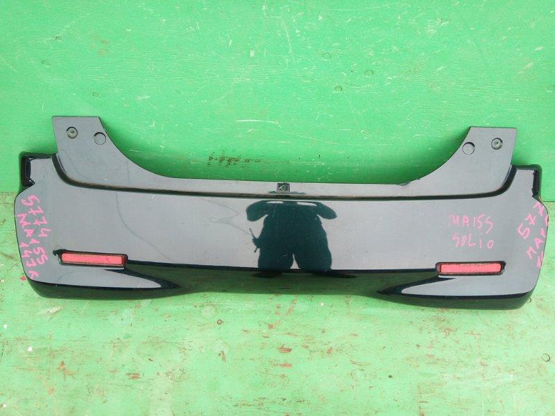 Бампер Suzuki Solio MA15S задний (б/у)
