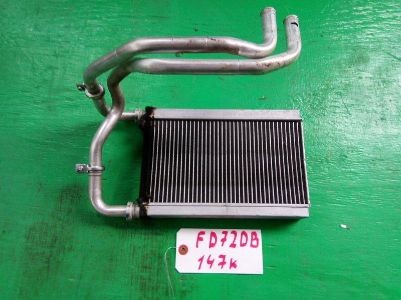 Радиатор печки Mitsubishi Canter FE72DB (б/у)