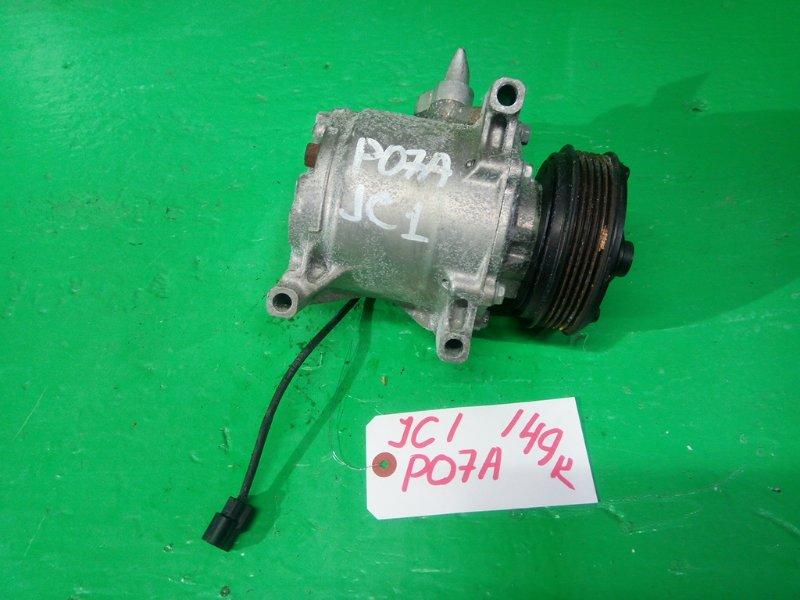 Компрессор кондиционера Honda Life JC1 P07A (б/у)