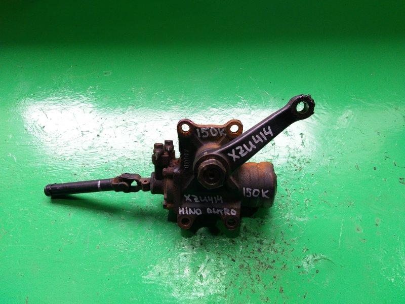 Рулевой редуктор Hino Dutro XZU414 (б/у)