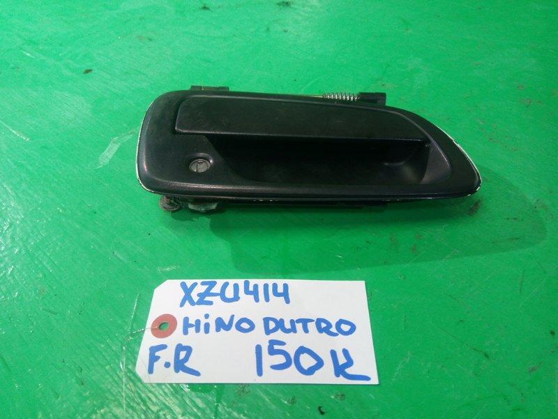 Ручка двери внешняя Hino Dutro XZU414 передняя правая (б/у)