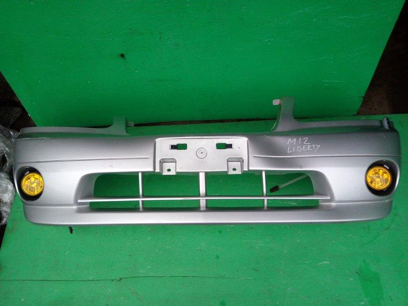 Бампер Nissan Liberty M12 передний (б/у)