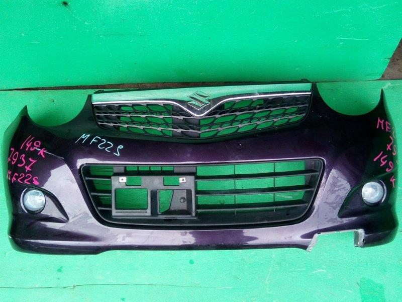 Бампер Suzuki Mr Wagon MF22S передний (б/у)