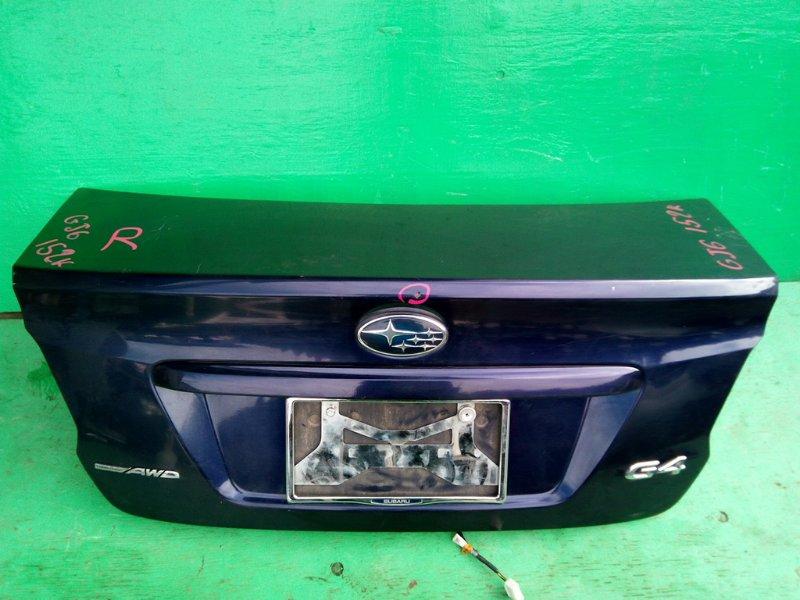 Крышка багажника Subaru Impreza GJ6 (б/у)