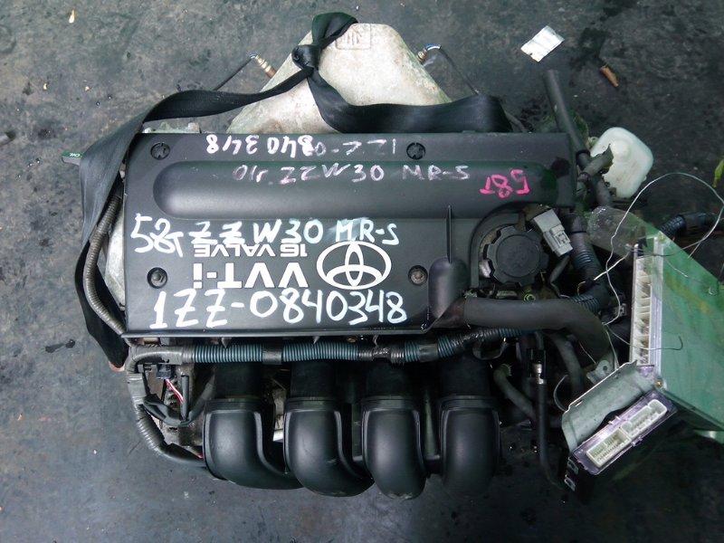 Двигатель Toyota Mr-S ZZW30 1ZZ-FE 2001 (б/у)
