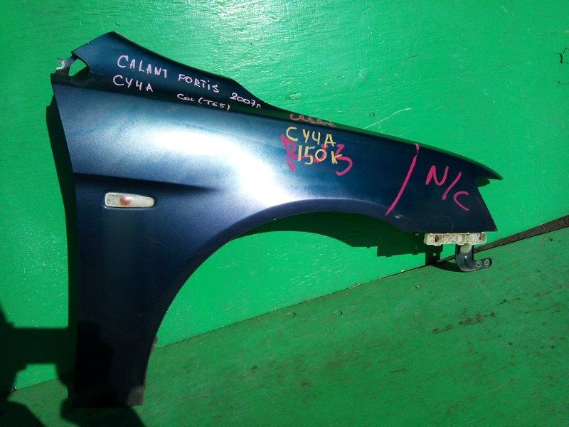 Крыло Mitsubishi Galant Fortis CY4A 2007 переднее правое (б/у)