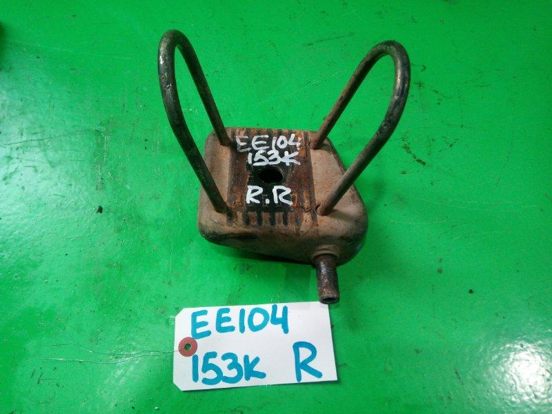 Стремянка рессоры Toyota Corolla EE104 задняя правая (б/у)