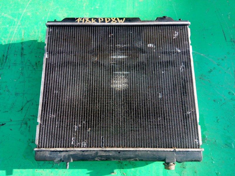 Радиатор основной Mitsubishi Delica PD8W 4M40-TE (б/у)