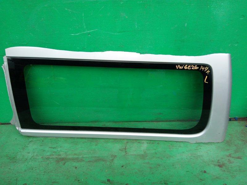 Стекло собачника Nissan Caravan E26 левое (б/у)