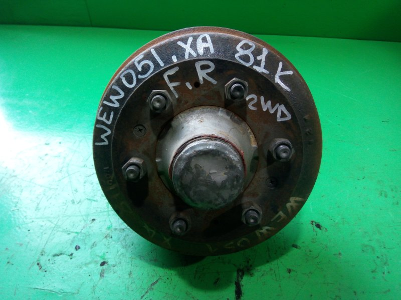 Ступица Mazda Titan WEW051 передняя правая (б/у)