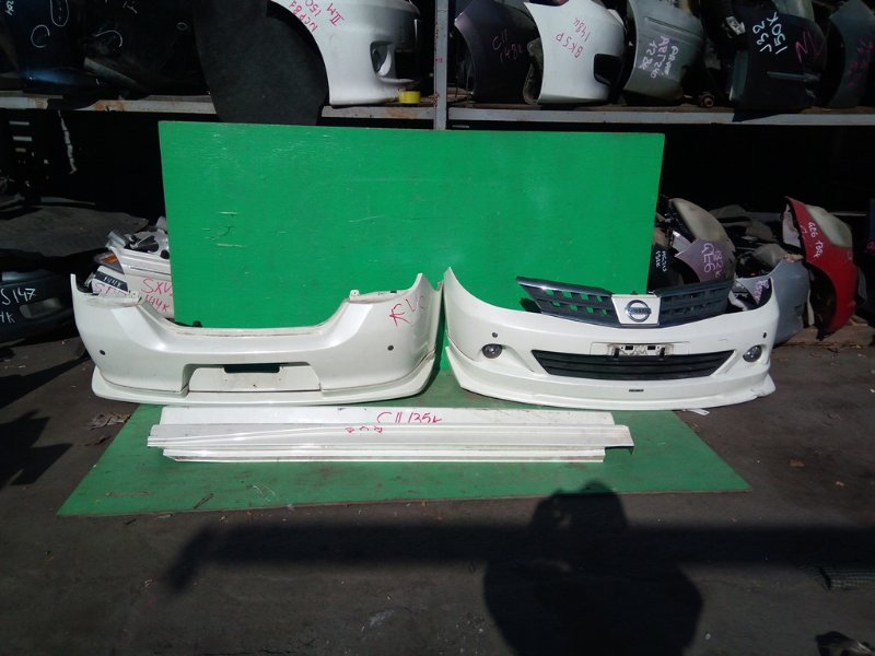 Обвес Nissan Tiida C11 (б/у)