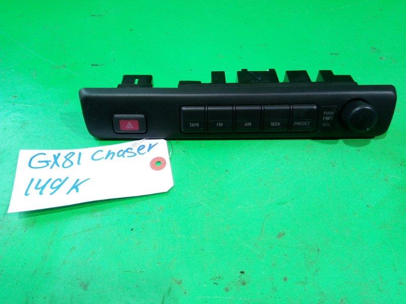 Консоль магнитофона Toyota Chaser GX81 (б/у)