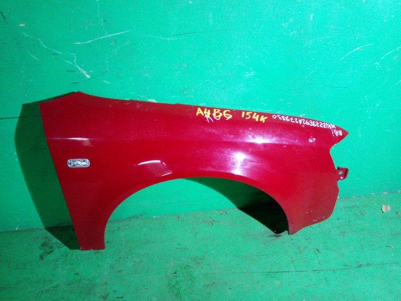 Крыло Audi A4 B6 переднее правое (б/у)