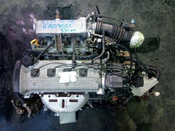 Двигатель Toyota Corsa EL51 4E-FE (б/у)