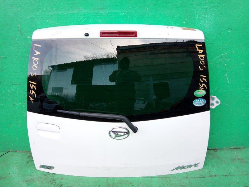 Дверь задняя Daihatsu Move LA100S (б/у)