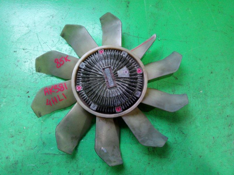 Вентилятор с вискомуфтой Nissan Atlas AKS81 4HL1 (б/у)