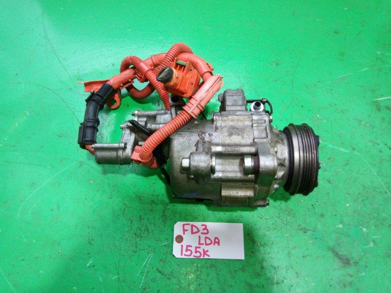 Компрессор кондиционера Honda Civic FD3 LDA (б/у)