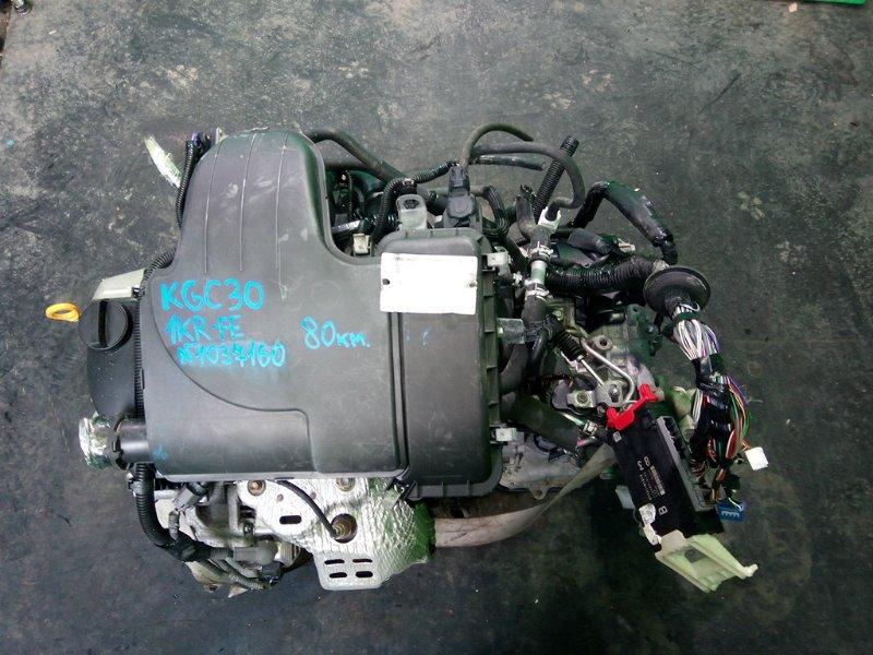 Двигатель Toyota Passo KGC30 1KR-FE (б/у)
