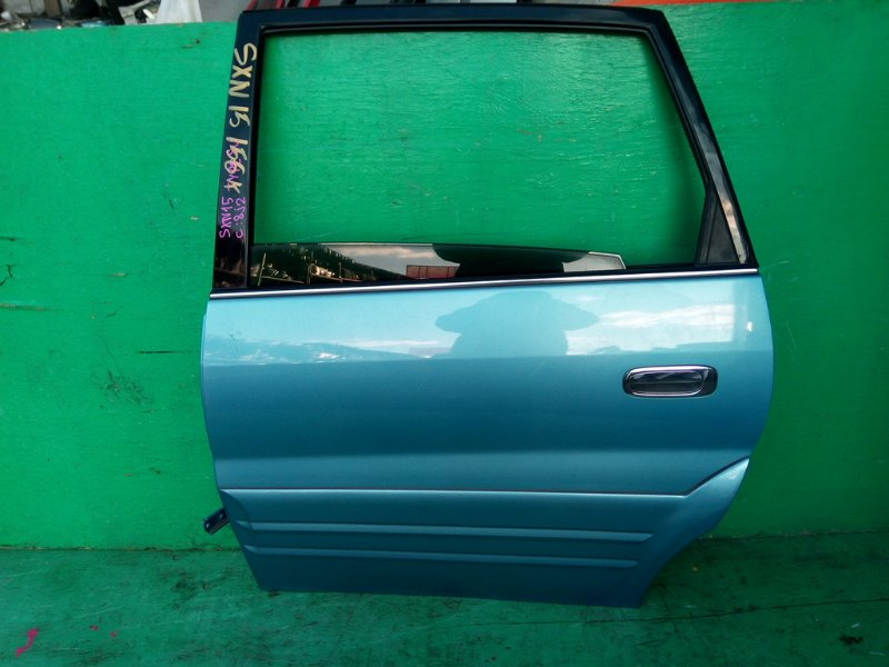 Дверь Toyota Nadia SXN15 задняя левая (б/у)