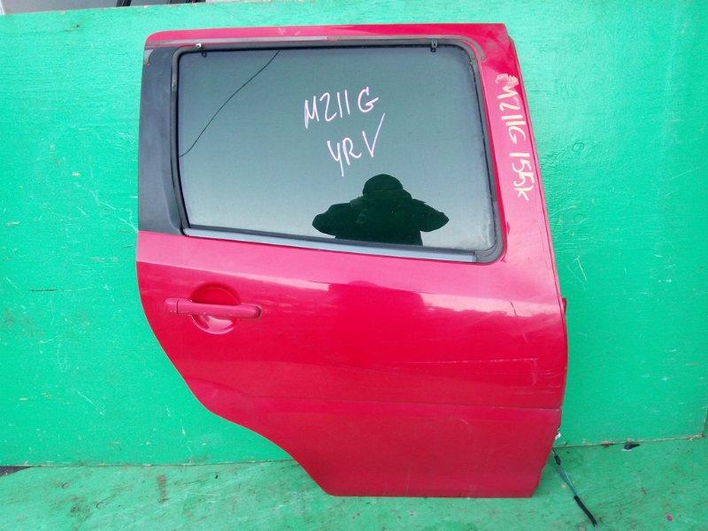 Дверь Daihatsu Yrv M211G задняя правая (б/у)