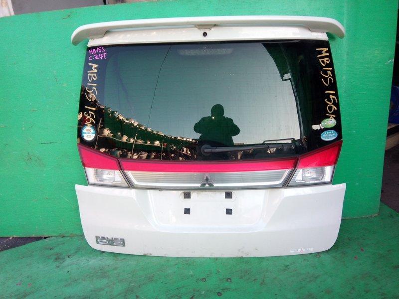 Дверь задняя Mitsubishi Delica D2 MB15S (б/у)