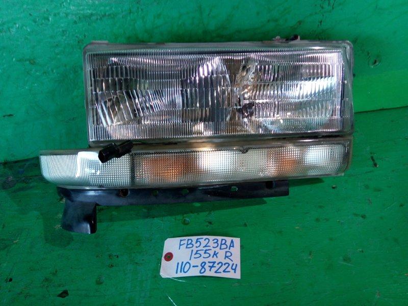 Фара Mitsubishi Canter FB523BA правая (б/у)