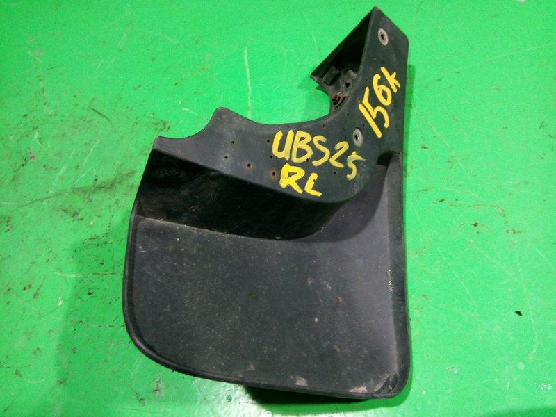 Брызговик Isuzu Bighorn UBS25 задний левый (б/у)