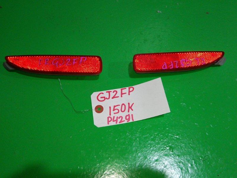 Катафот в бампер Mazda Atenza GJ2FP задний (б/у)