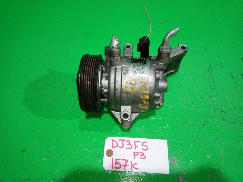 Компрессор кондиционера Mazda Demio DJ3FS P3 (б/у)