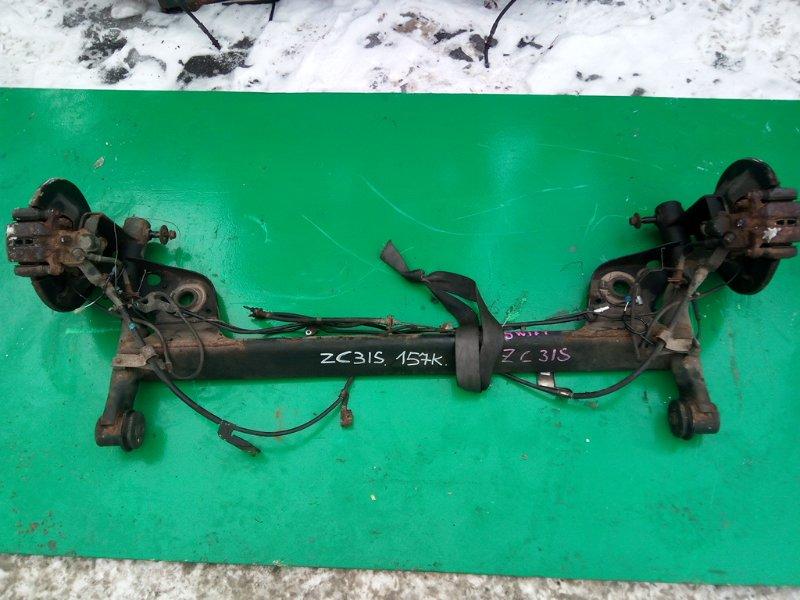 Балка подвески Suzuki Swift ZC31S задняя (б/у)
