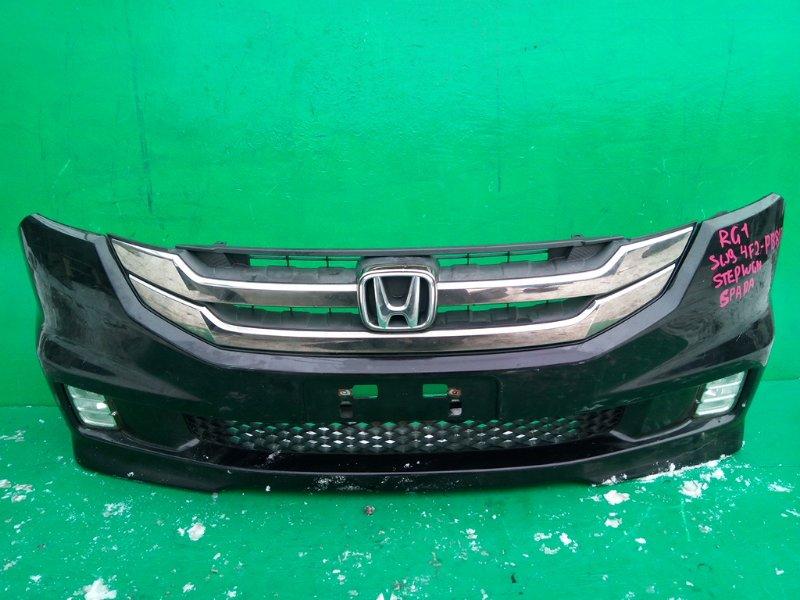 Бампер Honda Step Wagon RG1 передний (б/у)