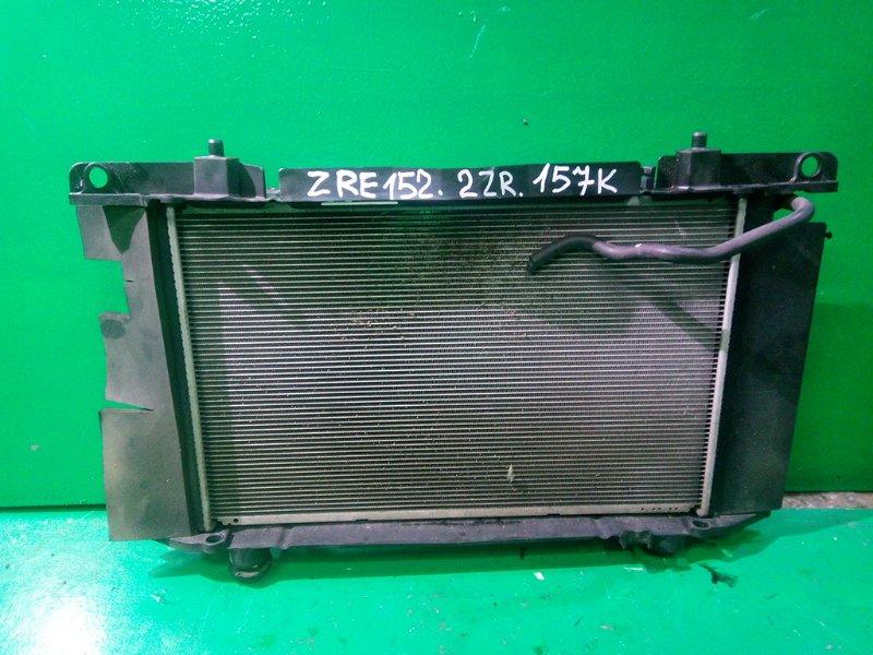 Радиатор основной Toyota Auris ZRE152 (б/у)