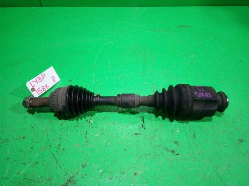 Привод Mazda Mpv LY3P передний правый (б/у)