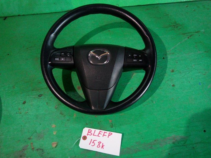Руль с airbag Mazda Axela BLEFP 2014 (б/у)