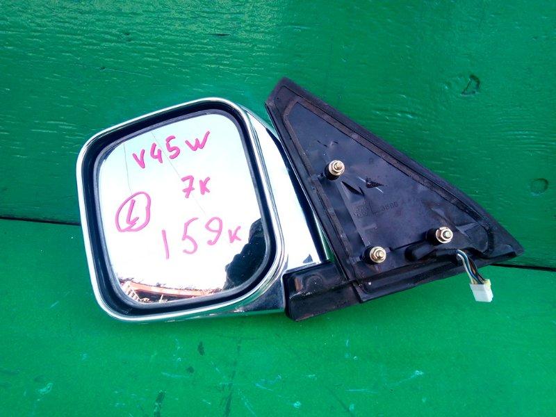 Зеркало Mitsubishi Pajero V45W левое (б/у)