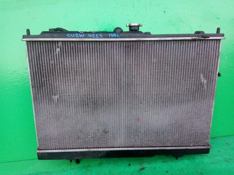 Радиатор основной Mitsubishi Airtrek CU2W 4G63 (б/у)