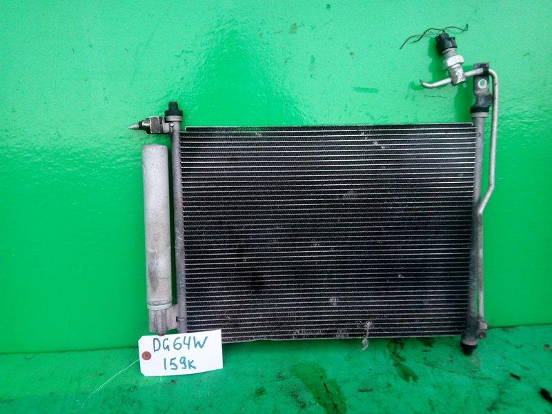 Радиатор кондиционера Mazda Scrum DG64V K6A (б/у)