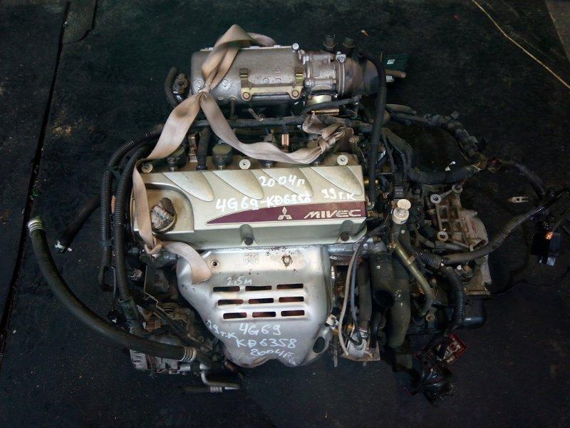 Двигатель Mitsubishi Grandis NA4W 4G69 2004 (б/у)