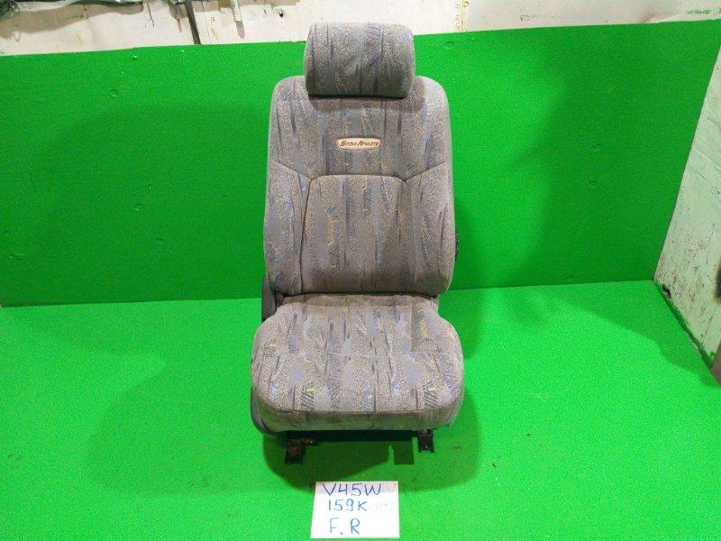 Сиденье Mitsubishi Pajero V45W переднее правое (б/у)
