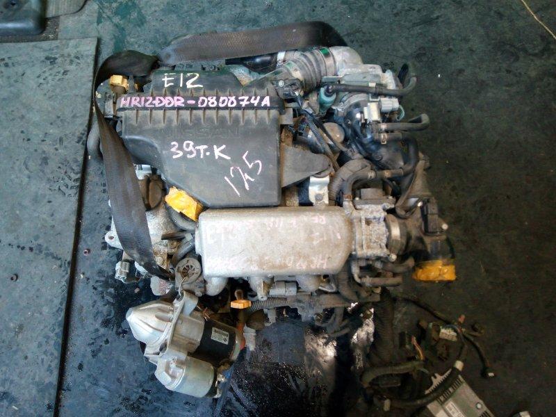 Двигатель Nissan Note E12 HR12-DDR (б/у)