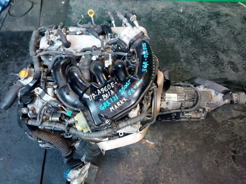 Двигатель Toyota Mark X GRX121 3GR-FSE 2006 (б/у)