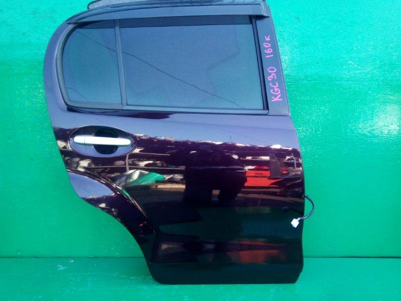 Дверь Toyota Passo KGC30 задняя правая (б/у)