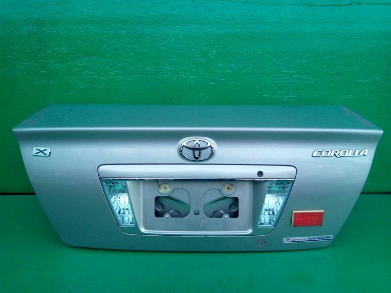 Крышка багажника Toyota Corolla NZE124 (б/у) N 1