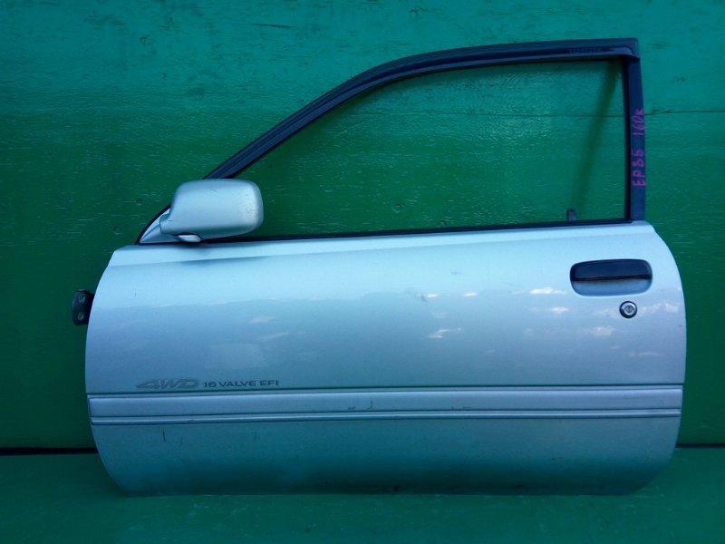 Дверь Toyota Starlet EP85 передняя левая (б/у)