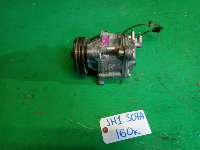 Компрессор кондиционера Honda N-Wgn JH1 S07A (б/у)