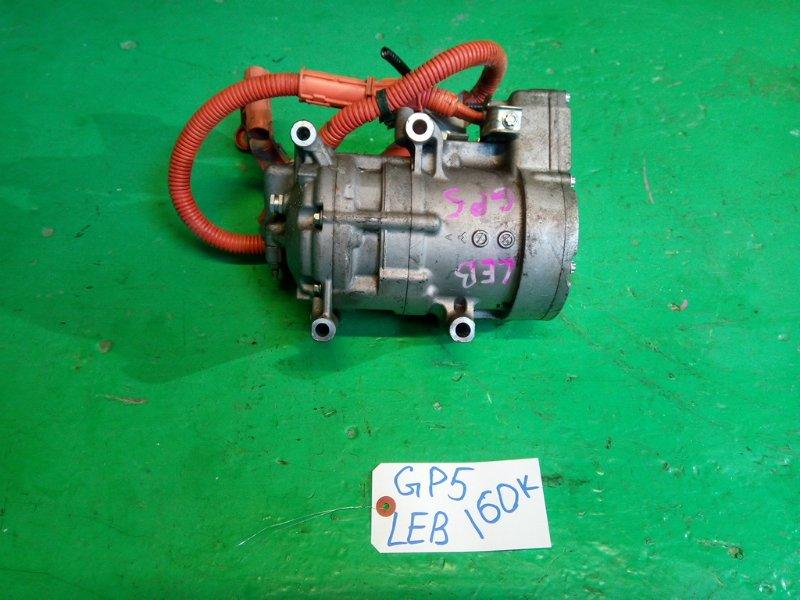 Компрессор кондиционера Honda Fit GP5 LEB (б/у)