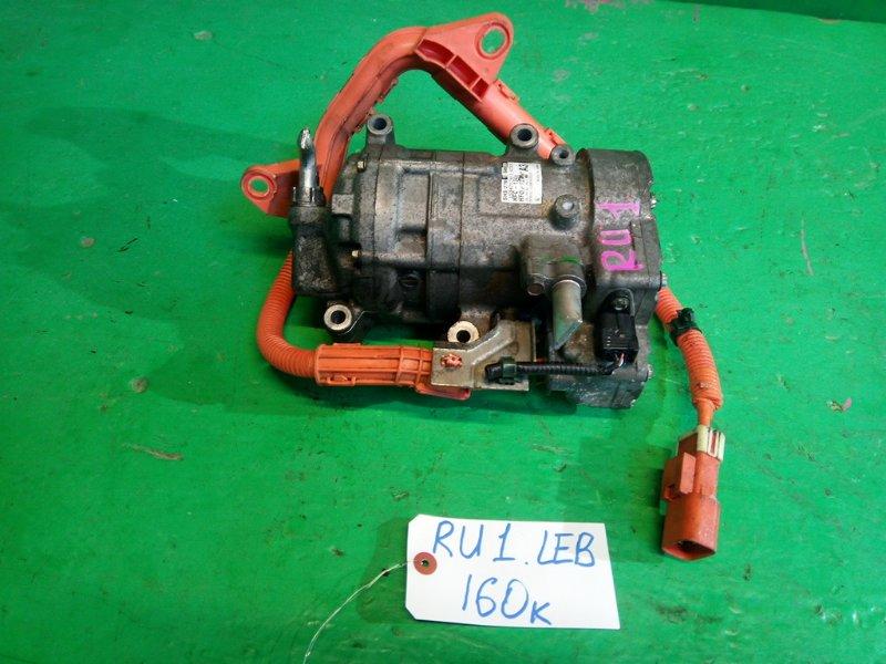 Компрессор кондиционера Honda Vezel RU1 LEB (б/у)