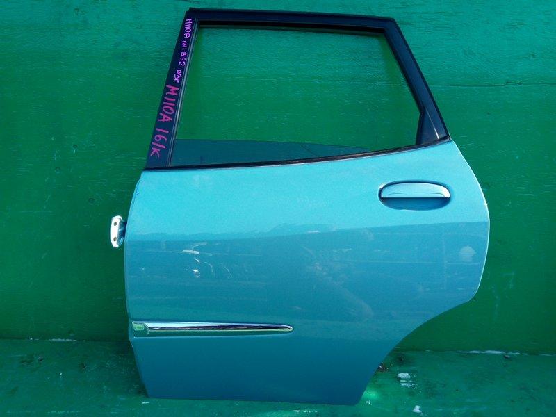 Дверь Toyota Duet M110A задняя левая (б/у)
