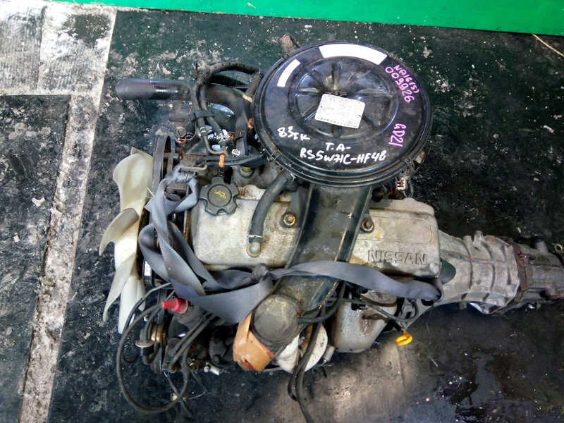 Двигатель Nissan Datsun D21 NA16-S (б/у)